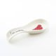 Spoon Rest Heart & Words Red