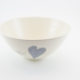 Salad Bowl Medium Heart & Words Grey