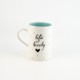 Mug D Candy Love Turquoise-Life is lovely