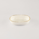Kiki Oval Small Gold Plated