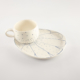 Cup and Saucer Snack Ocean Wave