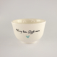 Breakfast Bowl Candy Love Turquoise-Worry less giggle more