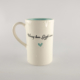 Mug D Candy Love Turquoise-Worry less giggle more