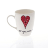 Mug A Heart & Words Red